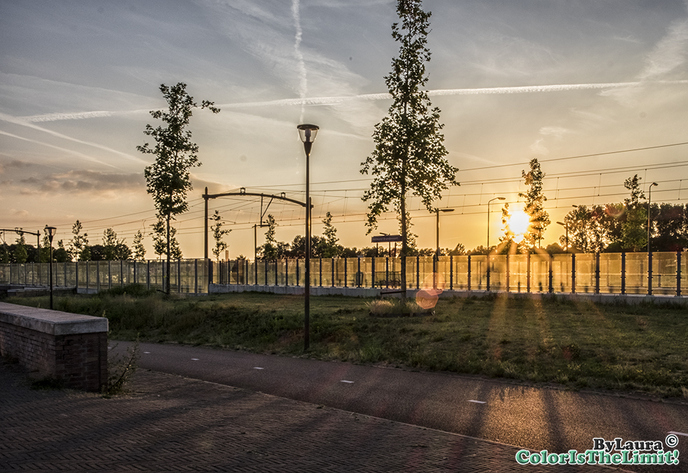 Zonsondergang Brandevoort
