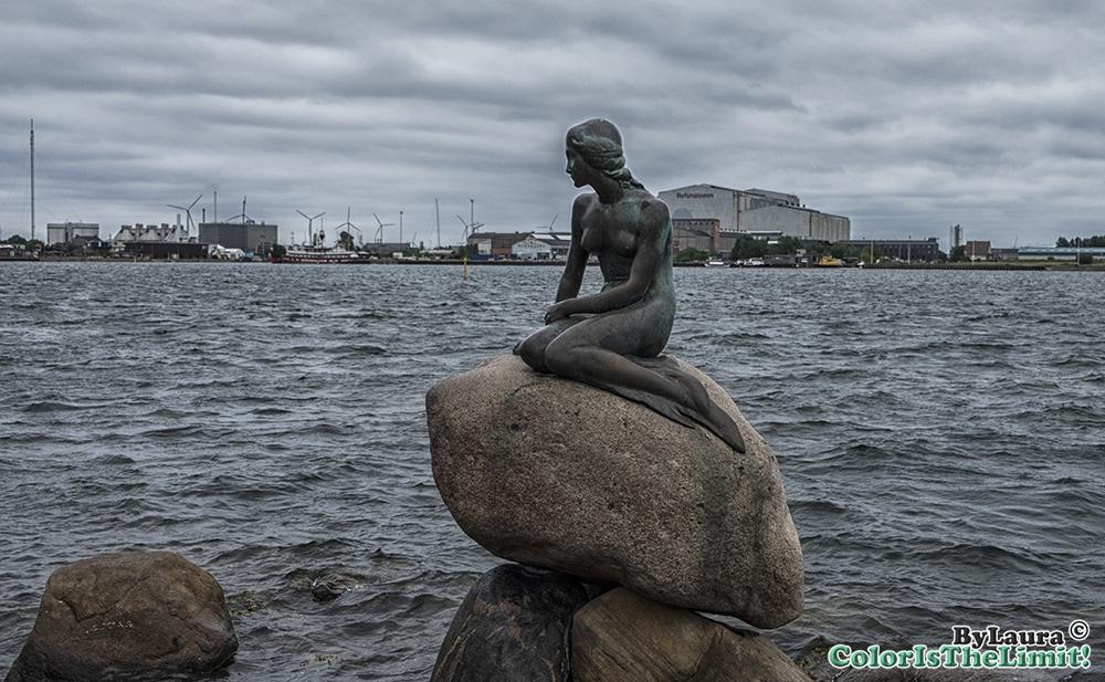 Søfartsmonumentet og Den Lille Havfrue