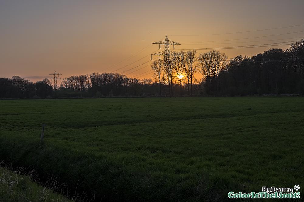 Zonsondergang Goorloop