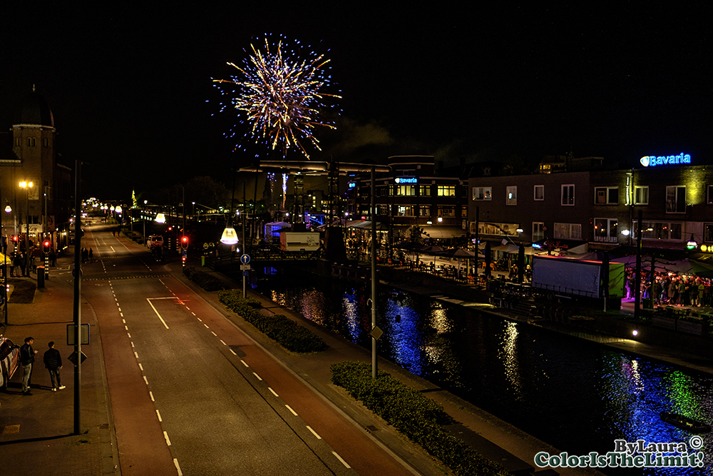 Kings Night Vuurwerk