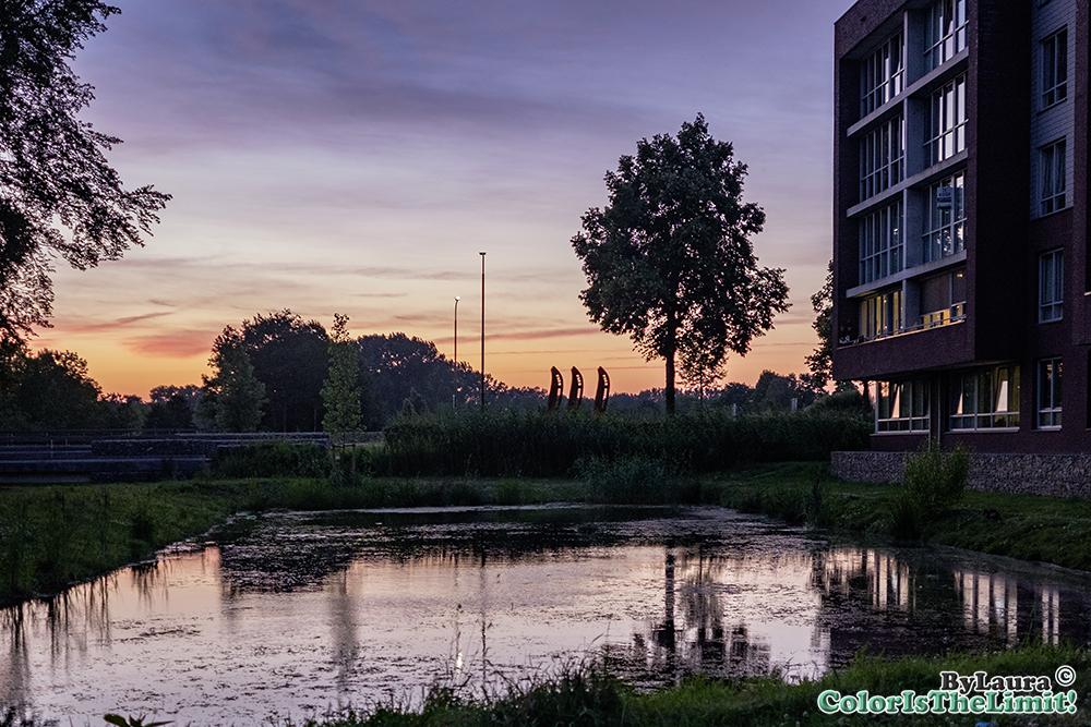 Zonsondergang Goorlooppark