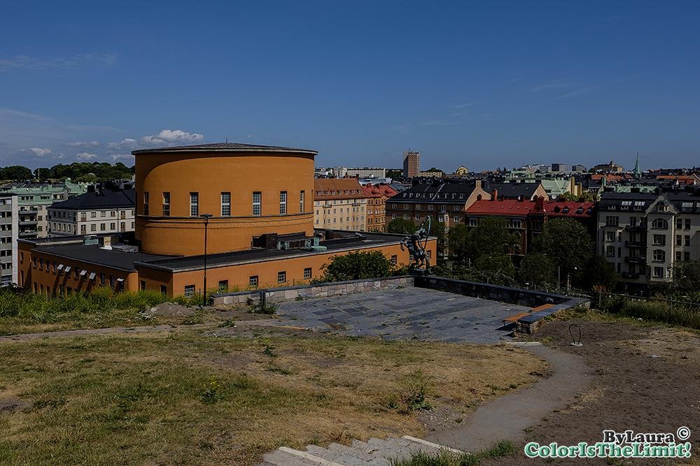 Stockholms Stadsbibliotek & Sture Biografen