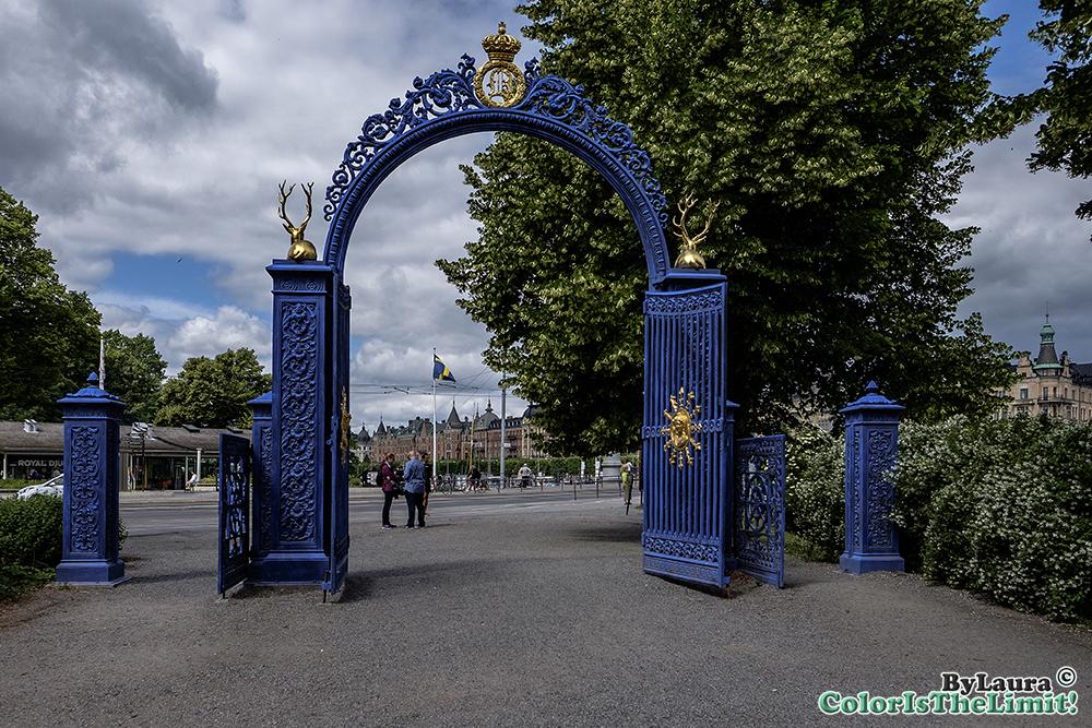 Blå Porten & Skansen