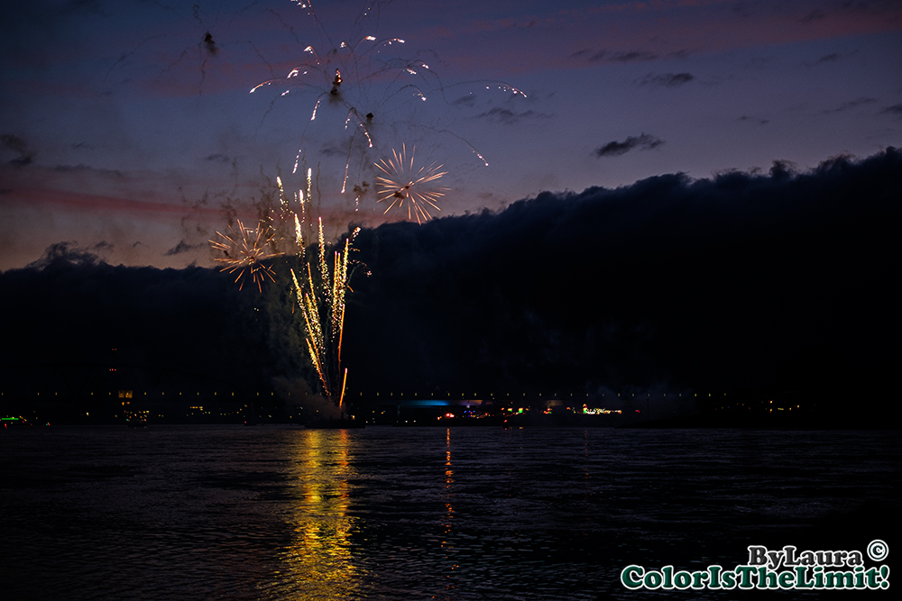 Vuurwerk de Kaaij